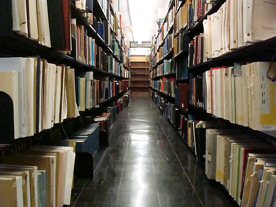 ctheworld › Portfolio › Alderman Library Stacks - UVA ^
