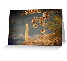 The Washington Monument Greeting Card