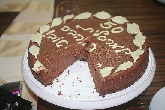 Margalit 50th Birthday cake by Ilan Cohen