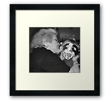 Zia Maria and Amore' Framed Print