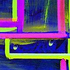 Neon Door 2 by David Schroeder