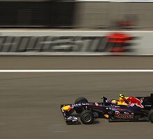 F1 Shanghai - Mark Webber - Red Bull Racing by Mark Bolton