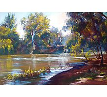 Fast Flowing Goulburn Photographic Print