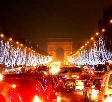 New Years Eve on the Champs Elysées by leahrenee88