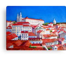 Lisbon 2010 Canvas Print