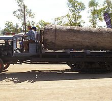 LOG HAULER by boydcarmody
