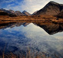 Glen Etive lochan by David Mould
