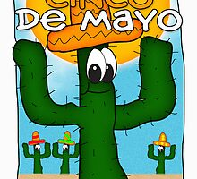 Cinco de Mayo Greeting Card by Moonlake