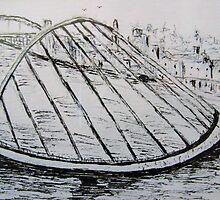 Millennium Bridge by GEORGE SANDERSON