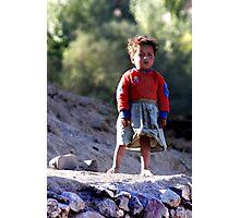 Girl (Afghanistan) Photographic Print
