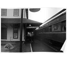 Cooperstown Station Poster