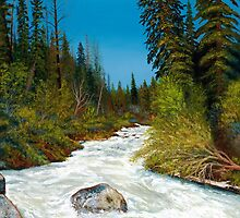 """Spring Creek""  in the wilderness by ARTIST4HIRE"
