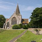 Alfriston Parish Church, Sussex UK by ColinBoylett