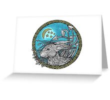 Little Blue Leveret Greeting Card