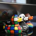 Ducks on TV. by CarrieCollins