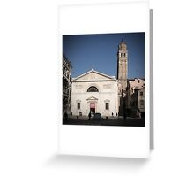 All These People - Venice, Campo San Maurizio Greeting Card