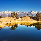 Lake Deoria in the Himalaya by soumen