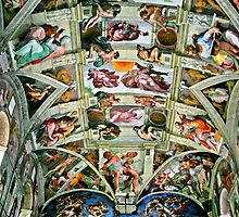 Sistine Chapel Frescoes by MauroMartins
