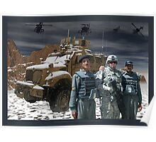 Operation Enduring Freedom - Joint Task Force Geronimo Poster
