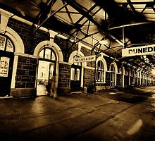 Too Late for The Last Train | Dunedin Railway Station by RONI PHOTOGRAPHY