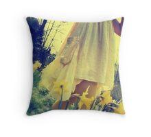 spring breeze - early evening Throw Pillow