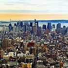 Manhatten, New York City by Stephen Burke