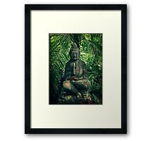 Bali Buddha Framed Print