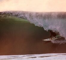 Clean Off the Wall Barrel by Vince Gaeta