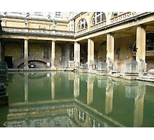 Roman Baths, Bath England Photographic Print