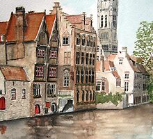 """Venice of the North"" - Bruges, Belgium by Timothy Smith"