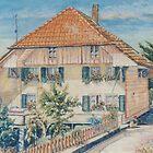 Rudolph's Family Home in Switzerland by scallyart