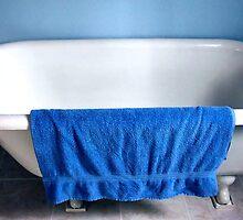 Blue Towel by Judy Stepanian