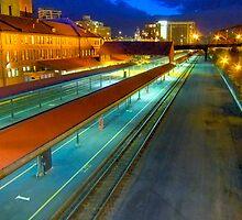 Portland Train Station by Dragomir Vukovic