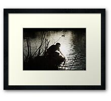 Touch the Light Framed Print