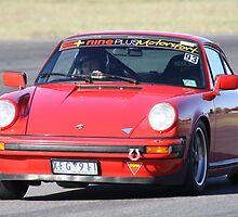RED ROCKET PORSCHE 911 SC - WINTON 11-4-10 by Ian Nichols