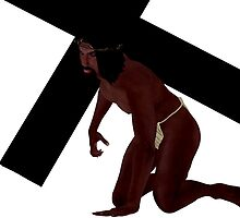 Black Jesus by Christinart