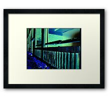 Balustrade Framed Print