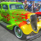 1933 Flames of Different Colors by lizalady