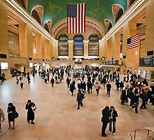 Grand Central Station by Gouzelka