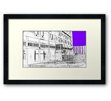 The Link , Parkhill, Sheffield, Uk Framed Print