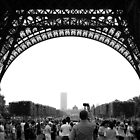 Under the Eiffel Tower by Karem Nunez