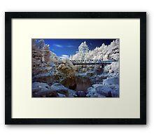 Wairoa River infrared 2 Framed Print