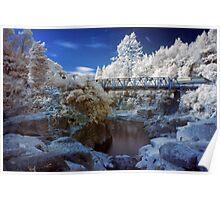 Wairoa River infrared 2 Poster