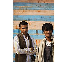 Fragments of Richness: An Indian Expose - curious eyes Photographic Print