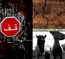 No Borders - Ziad Zitoun- 40x30cm - 2010 by Ziad Helmi Zitoun