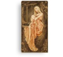 Art Nouveau: 'The Wish' Canvas Print