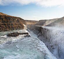 Gulfoss, Iceland. by Francesco Carucci