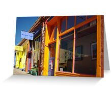 Down on Yankee Street - Silver City, NM Greeting Card