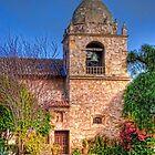 Carmel Mission by Justin Baer
