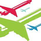 Retro DC9 Airplane Jet by planespotting
